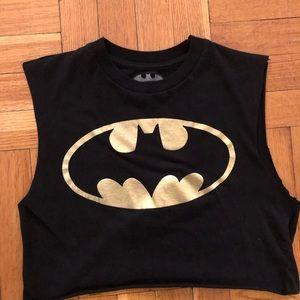 Cropped Batman tank